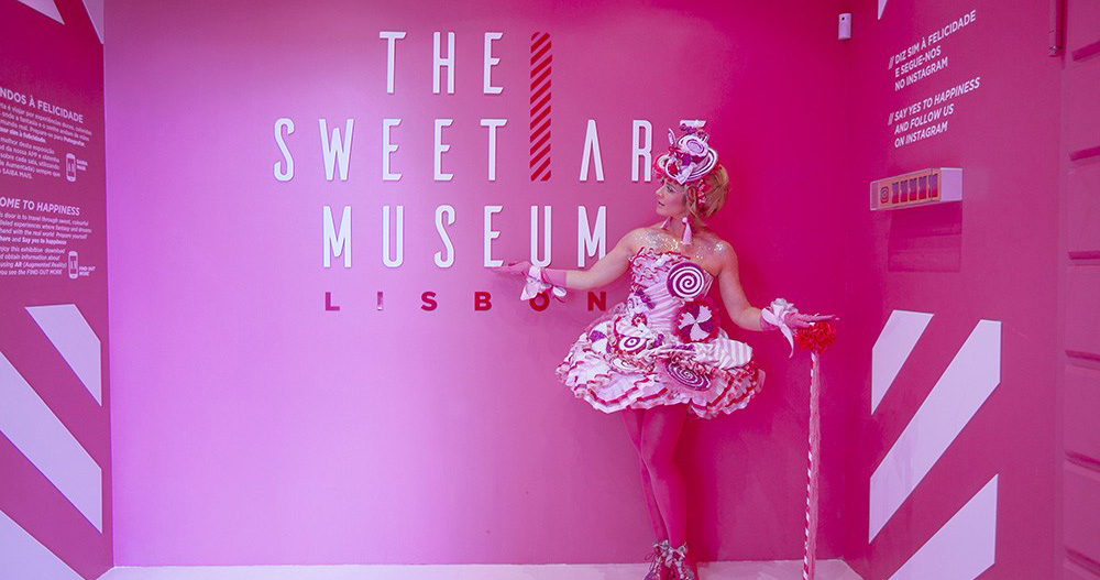 The Sweet Art Museum: O museu aumentado (em Lisboa)