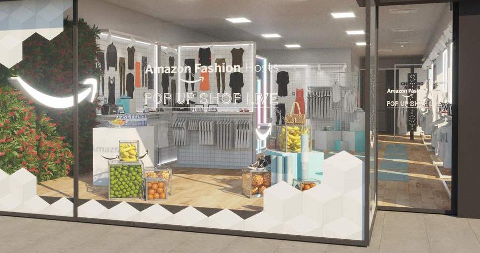 Amazon abre lojas pop-up de vestuário