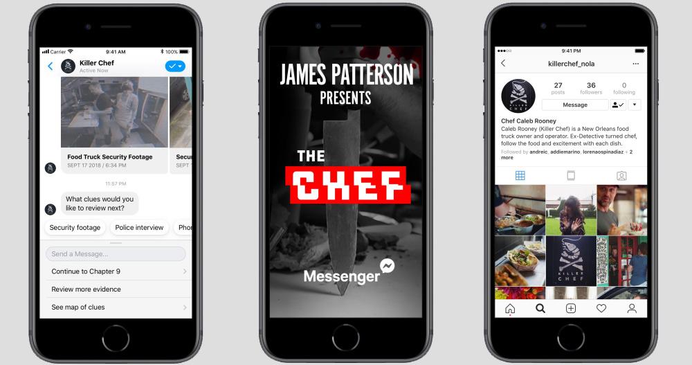 Chat ficção, uma nova forma de distribuição de conteúdos