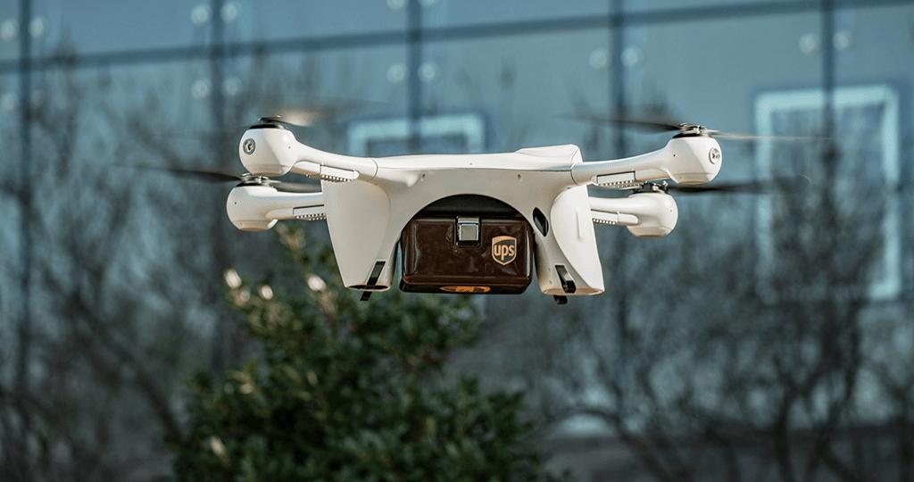 UPS lança serviço de transporte de amostras médicas por drone