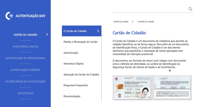 Autenticação.gov: login único em serviços