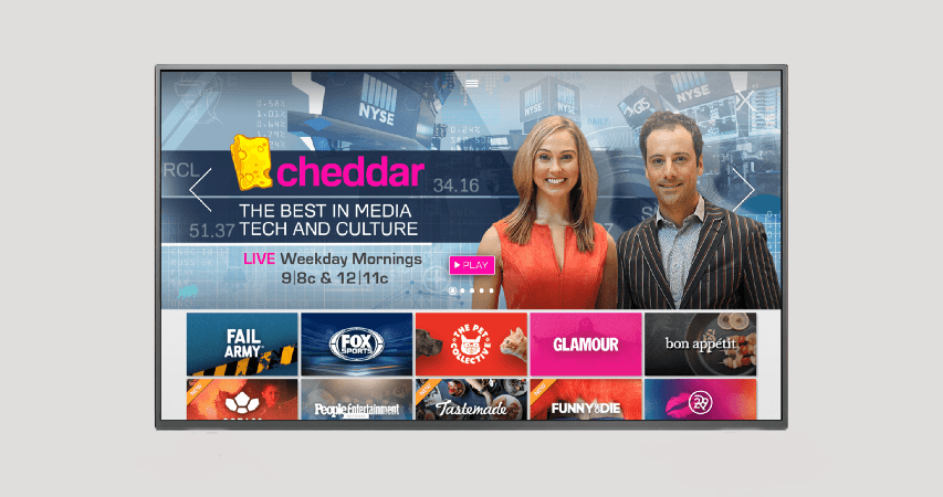 Altice EUA compra startup de media digital Cheddar
