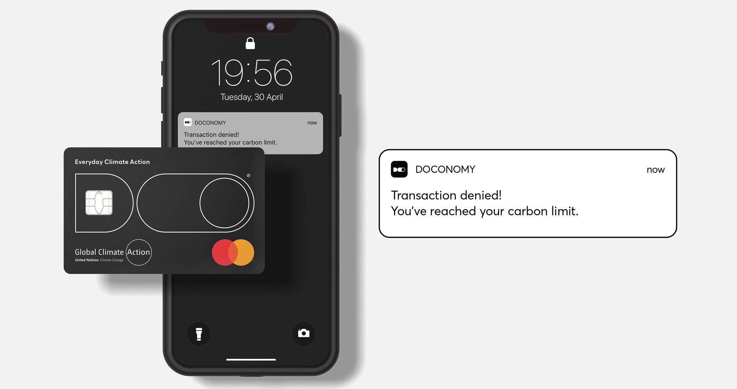 Doconomy: cartão de crédito baseado em emissões de CO2