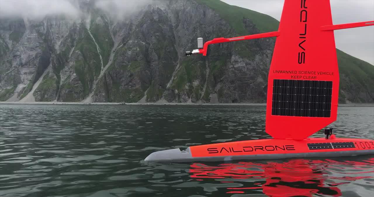 Saildrone: ler o mar através de drones autoguiados