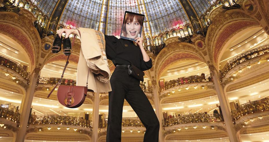 Galeries Lafayette criam serviço de compras à distância
