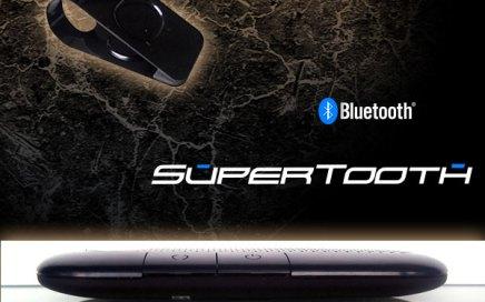 Supertooth Crystal, Bluetooth Freisprecheinrichtung für Sonnenblende