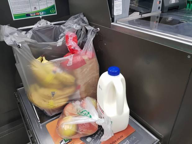 sacs plastiques countdown nouvelle-zélande
