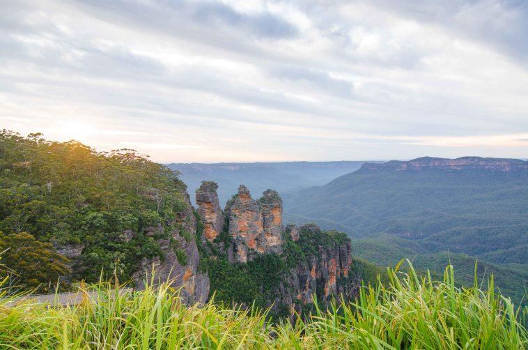 parcs nationaux australie blue mountains