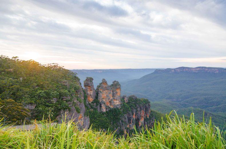 plus beaux paysages australie blue mountains