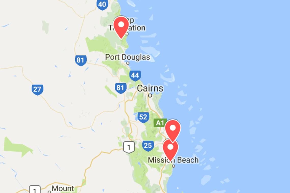 animaux d'australie où voir des casoars