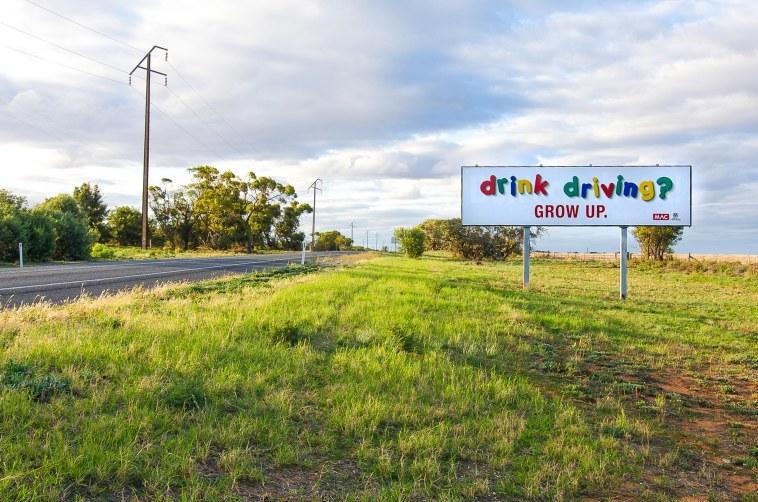panneau australien présentation de l'australie