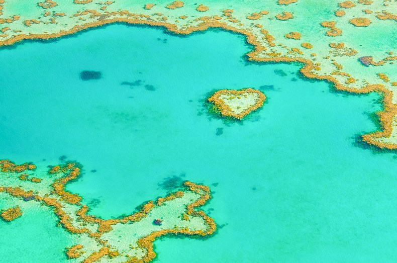 plus beaux paysages australie grande barrière de corail