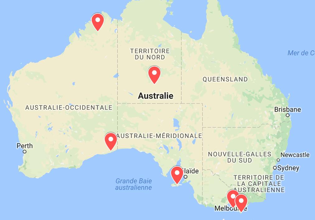 animaux d'australie où voir des serpents
