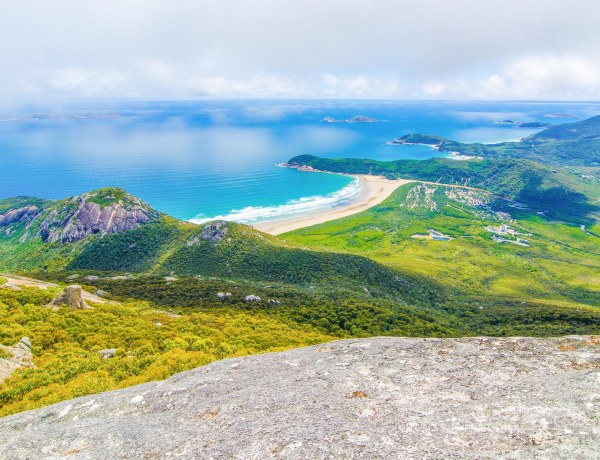 mount oberon summit walk wilsons promontory