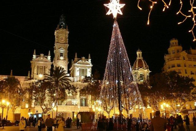 Navidad en Valencia: Foto de Calafellvalo (Flickr)