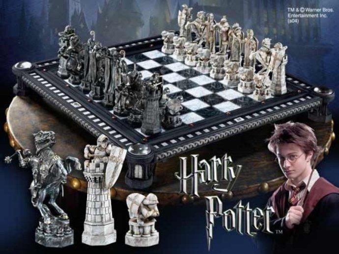Ajedrez mágico de Harry Potter