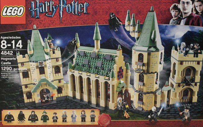 Castillo de Hogwarts de Lego Harry Potter