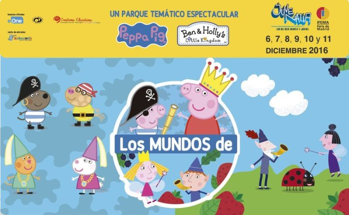 Los Mundos de Peppa Pig y Ben & Holly
