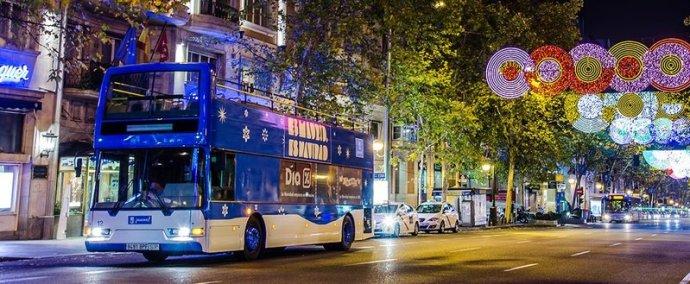 Naviluz el autobús de la Navidad en Supertribus