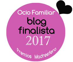 Finalista Mejor Blog Ocio Familiar Supertribus