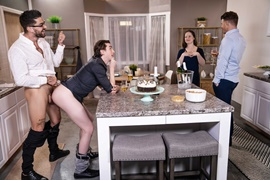 JJ Knight, Jack Hunter & Chris Damned – Big Fuck-Up in the Kitchen