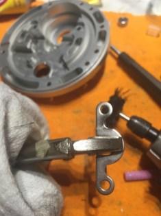 eccentric grinding