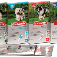 ADVANTIX perros 10-25 kg 1 pipeta x 2,5 ml