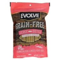 Evolve Dog Snack Grain Free Jerky Salmon 12 oz -340 gr