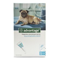 ADVANTAGE perros 4-10 kg 1 pipeta x 1,0 ml