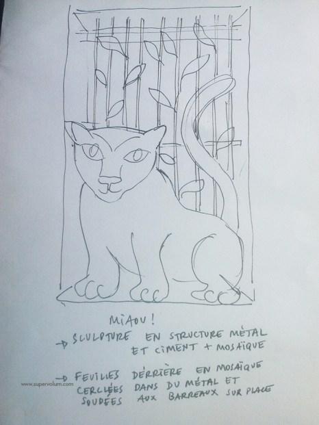 chat piat sculpture metal sara renaud supervolum (2)