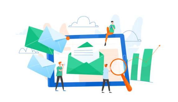 présenter un texte par mail