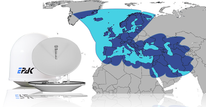 EPAK antennas on private yacht