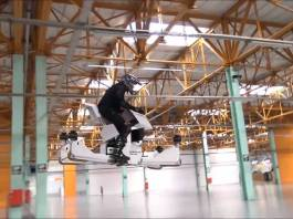 Add a hoverbike to you Superyacht toys wish list