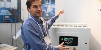What was the leading supplier of converters presenting at this year's METS?