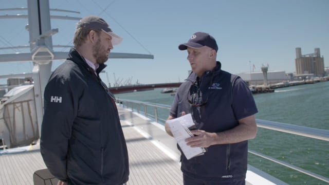 Sailing Yacht Black Pearl EXCLUSIVE interview