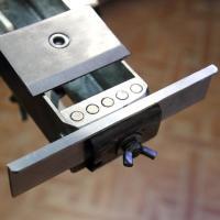 Приставка для заточки филейных ножей в рабочем положении
