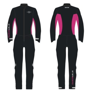STARBOARD WOMENS ALL STAR SUP SUIT - BLACK PINK