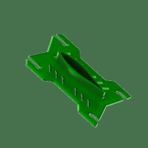 Indiana Foil Baseplate Alu