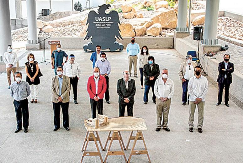 Inaugura la UASLP instalaciones del Instituto de Física