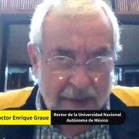 La autonomía está en permanente evolución y debemos reafirmarla en lo cotidiano: rector de la UNAM en el Colegio Nacional