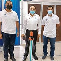 Diseñan en TecNM robot sanitizante contra Covid-19