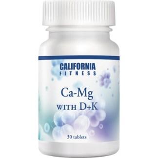 Ca-Mg with D+K Calivita flacon cu 30 tablete