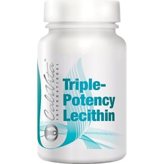 Triple Potency Lecithin Calivita flacon cu 100 capsule gelatinoase