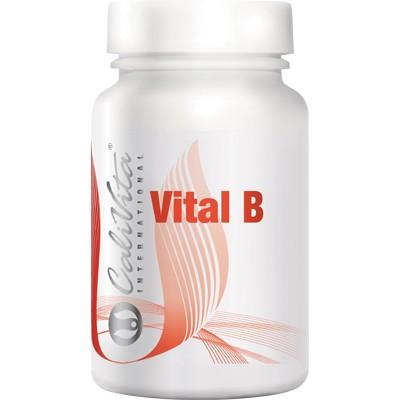 Vital B Calivita flacon cu 90 tablete