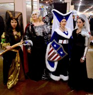 Lady Loki, Lady Thor, Lady Cap, Lady Winter