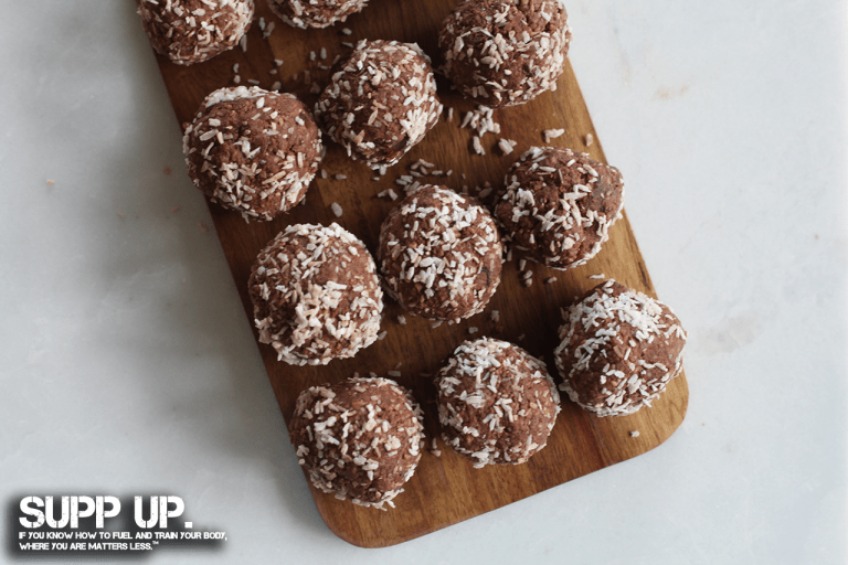 Clean Snacking Chocolate Coconut Protein Try These, SUPP UP Clean Snacking Chocolate Coconut Protein Try These, chocolate coconut protein balls recipe, high protein balls recipe, protein balls recipe, coconut protein balls recipe, chocolate protein balls recipe, high protein snacks recipe, SUPP UP No Bull Meal Planner, SUPP UP books, SUPP UP Sol Rego, Sol Rego, Clean Snacking SUPP UP, SUPP UP No Bull Whole Food Military Nutrition On The Go, SUPP UP No Bull Whole Food Military Nutrition At Home, SUPP UP No Bull Gym In A Bag Workout Guide, military nutrition, SUPP UP Guides, SUPP UP Military nutrition Guide, military, veterans, military muscle, army nutrition, navy nutrition, air force nutrition, military diet, Spec Ops nutrition