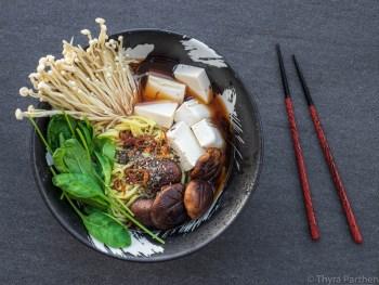 Pilz-Tofu-Ramen