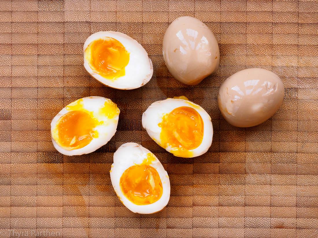 Ajitsuke Tamago 味付け玉子 (Marinierte Eier)