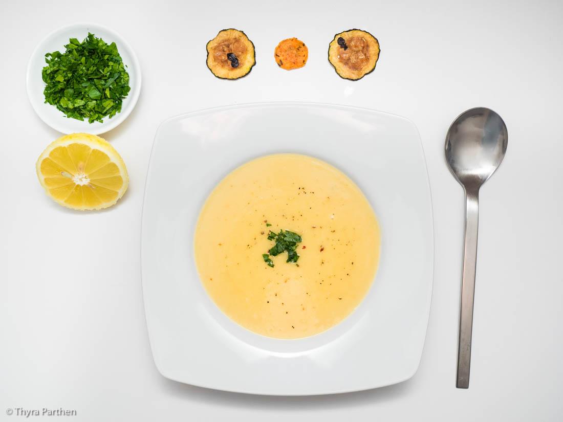 Kartoffel-Zitronen-Cremesuppe