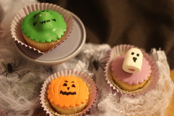 Halloween Character Cupcakes